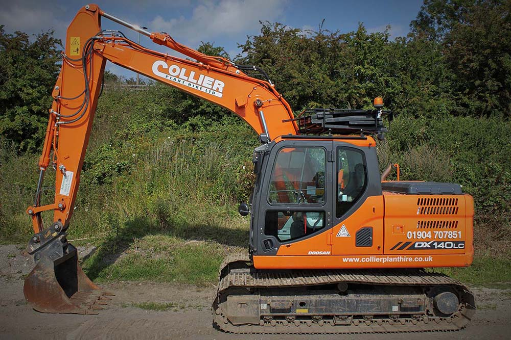 14 Tonne Excavator for Hire in Yorkshire
