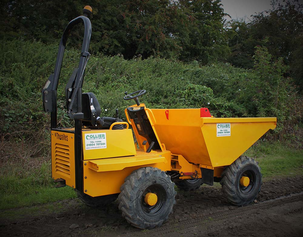 3 Tonne Dumper for Hire in Yorkshire