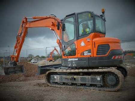 8 Tonne Excavator for Hire in Yorkshire