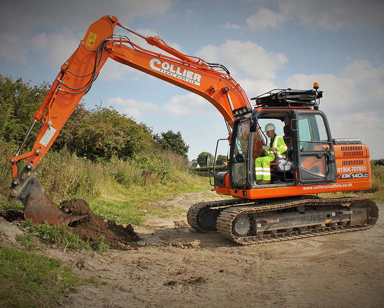 Excavators for Hire in Yorkshire