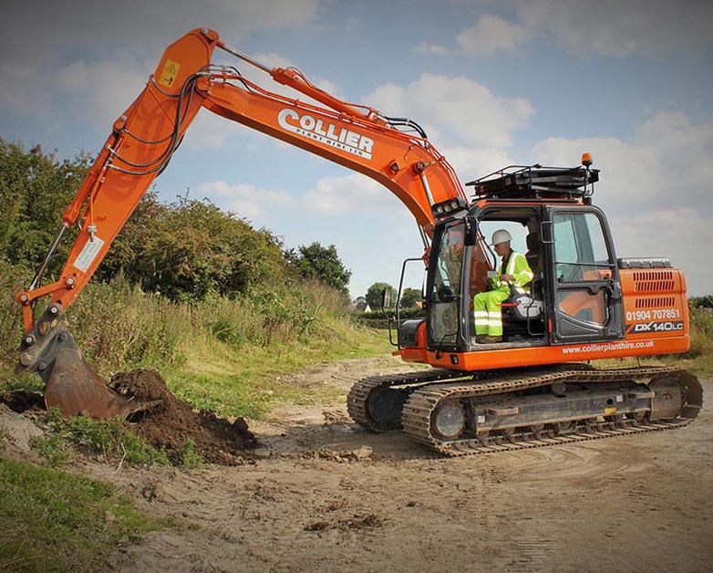 Excavators for Hire in Yorkshire