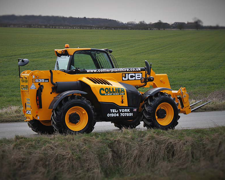 Telehandlers for Hire in Yorkshire
